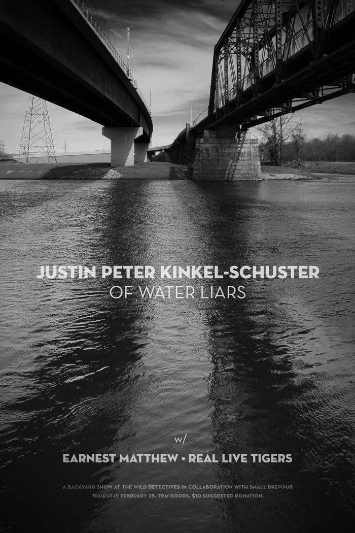 Justin Peter Kinkel-Schuster (of Water Liars) - The Wild