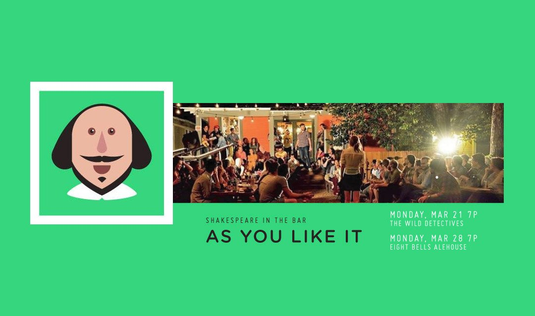 Shakespeare in the Bar - As You Like It