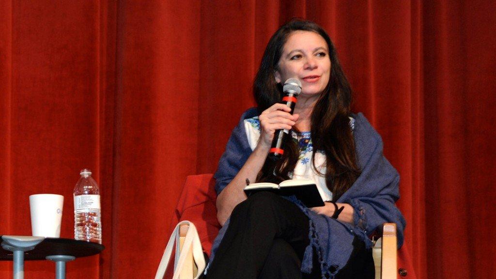 Carmen Boullosa at Latino Center in Dallas