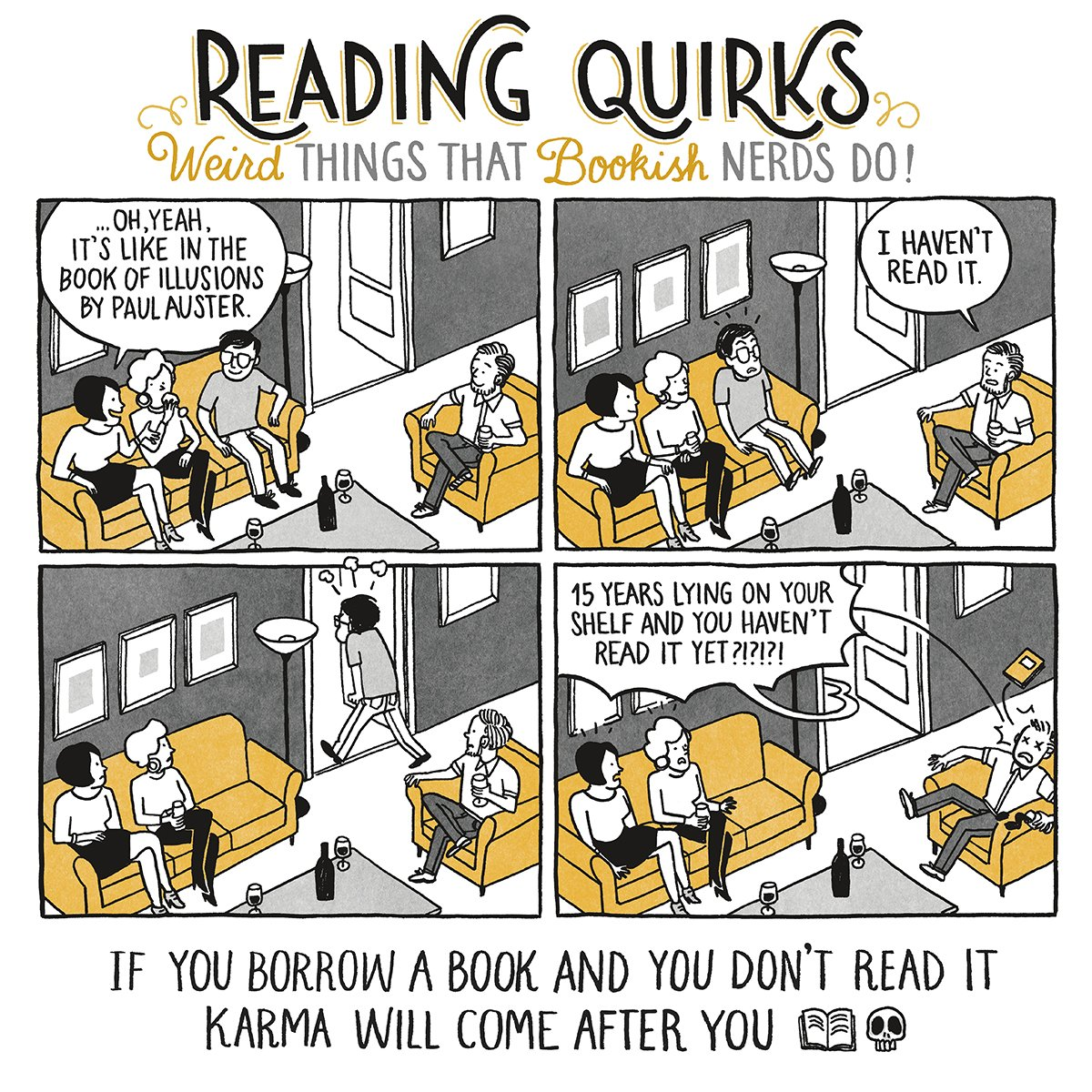 Reading Quirks #01