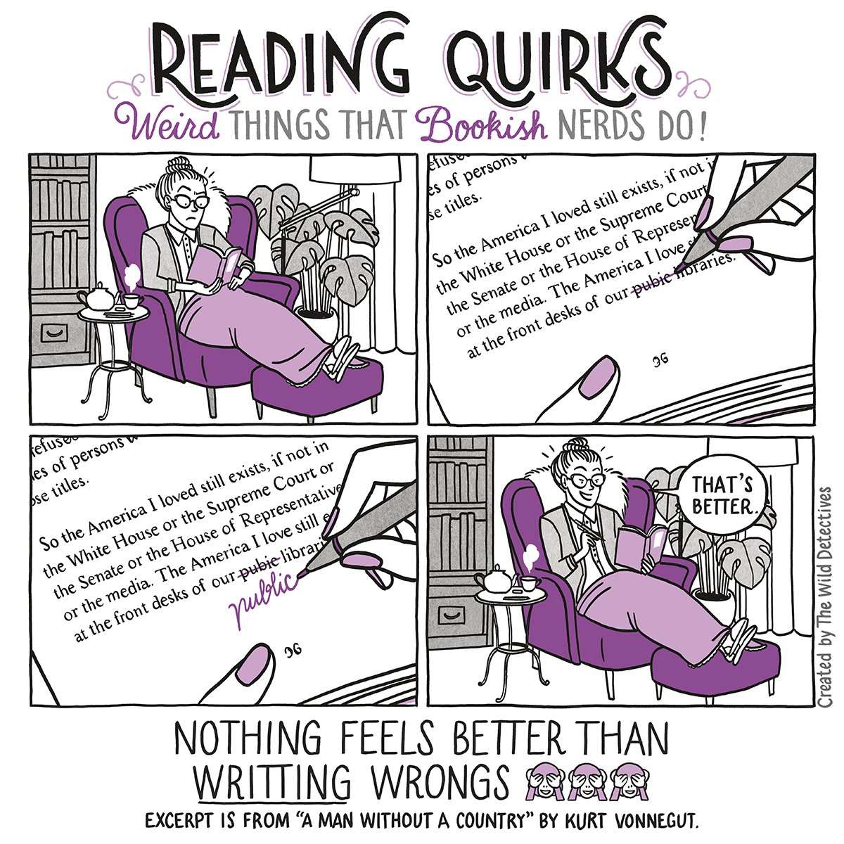 Reading Quirks #11