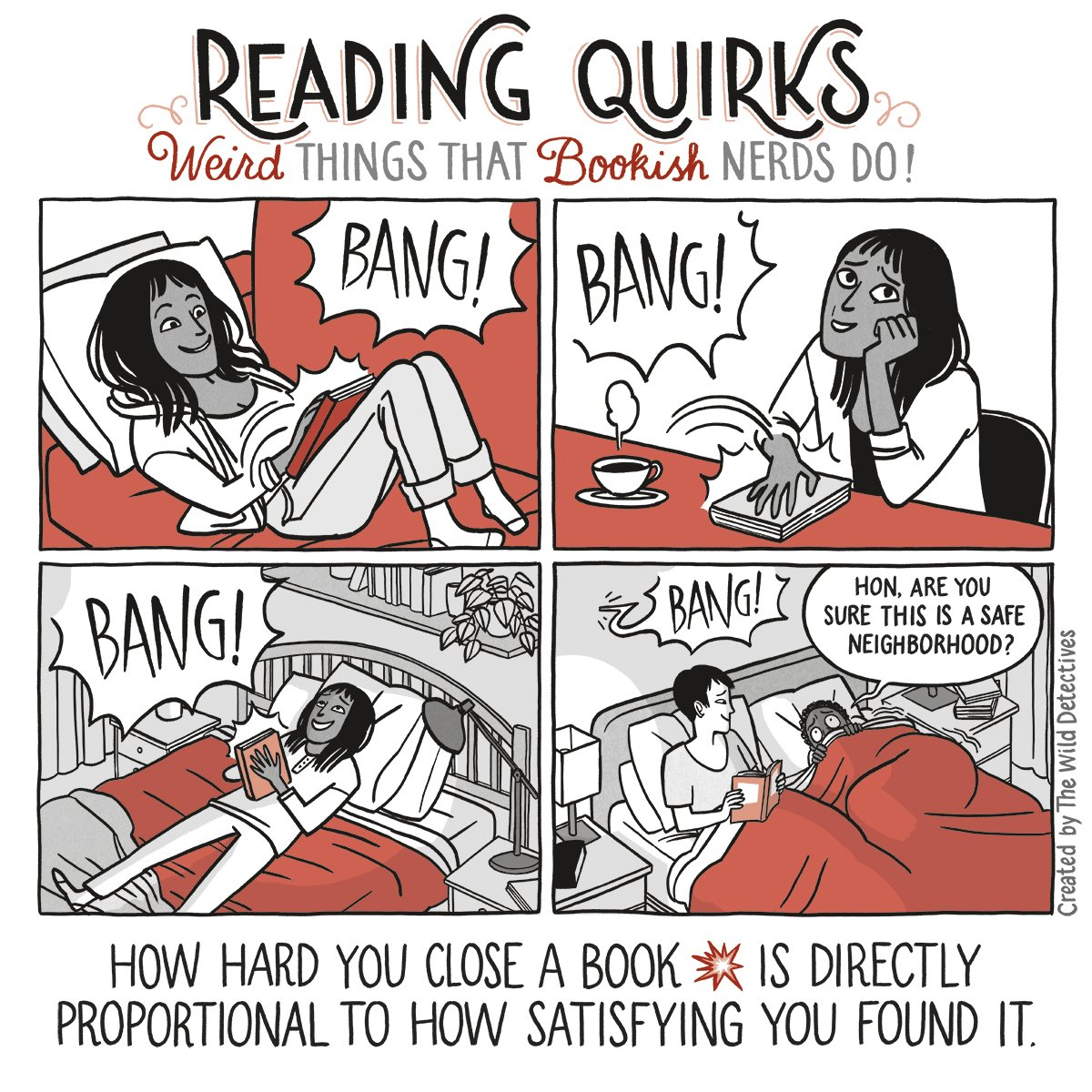 Reading Quirks #12