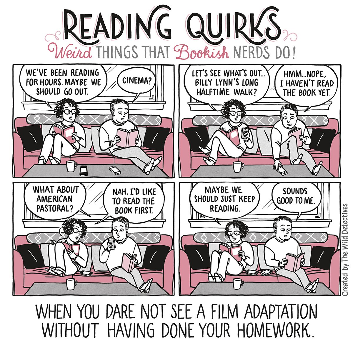 Reading Quirks #13