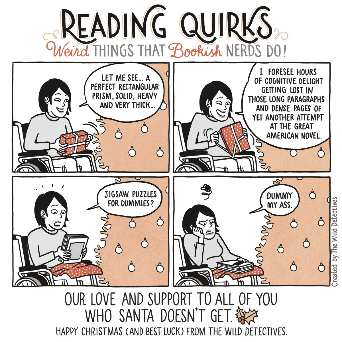 Reading Quirks #15