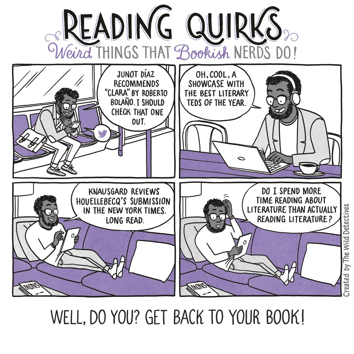 Reading Quirks #18