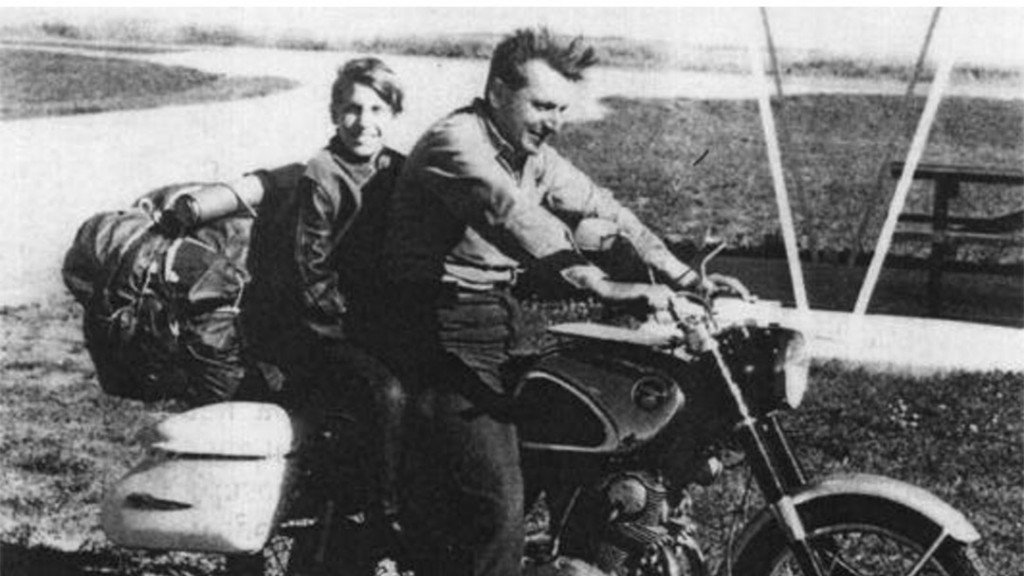 Pirsig and his son