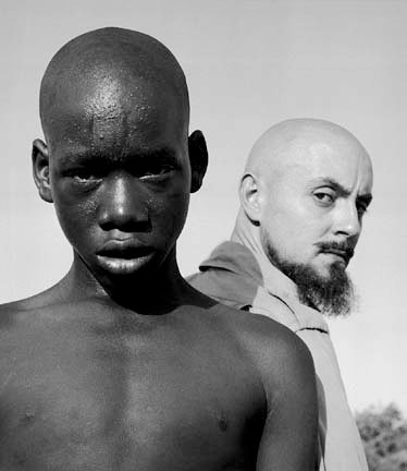 Self-Portrait with African Boy