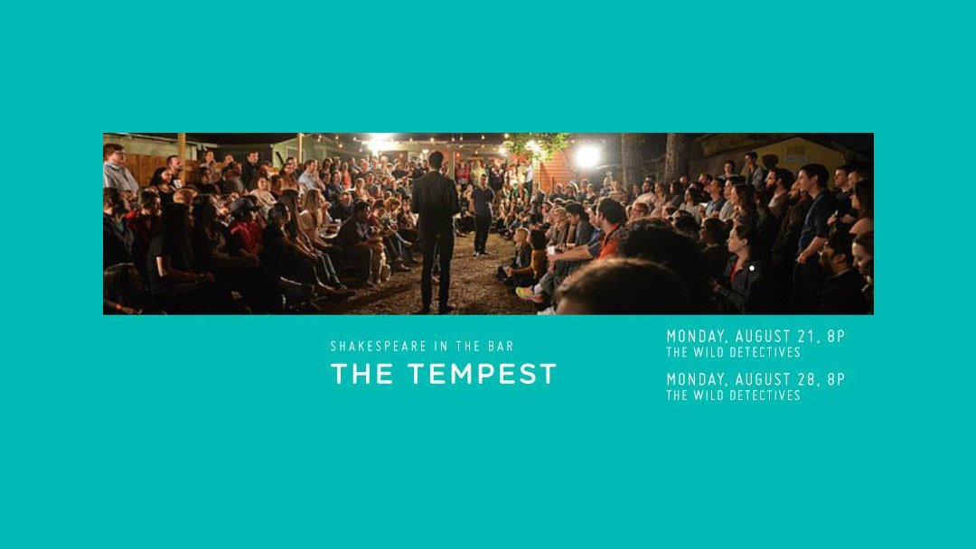 Shakespeare in the Bar - TheTempest