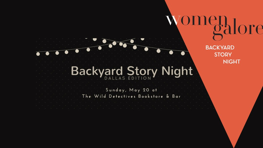 Backyard Story Night