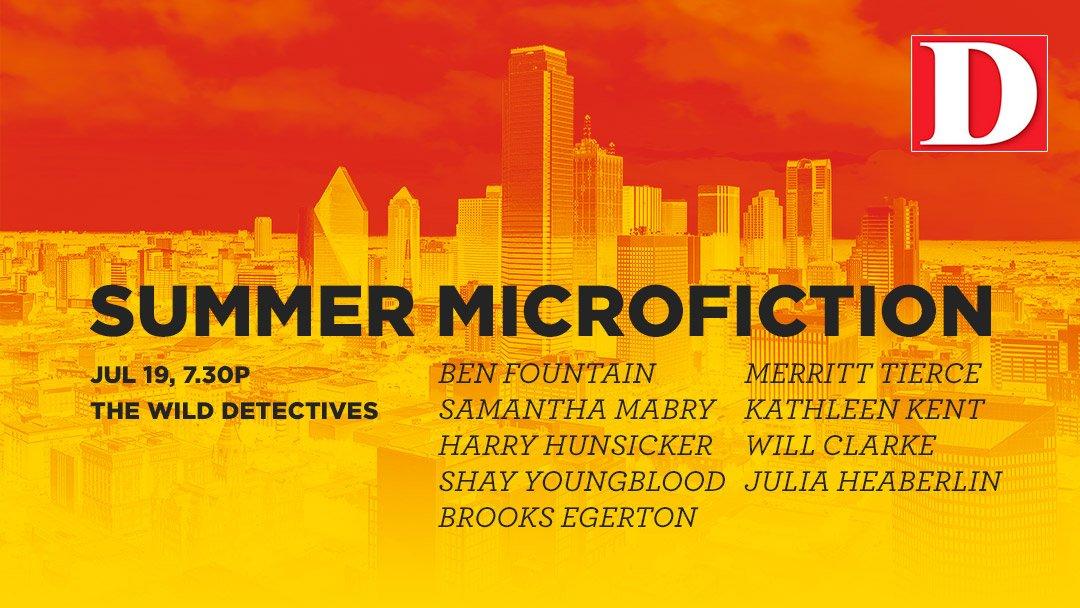 D Magazine Summer Microfiction