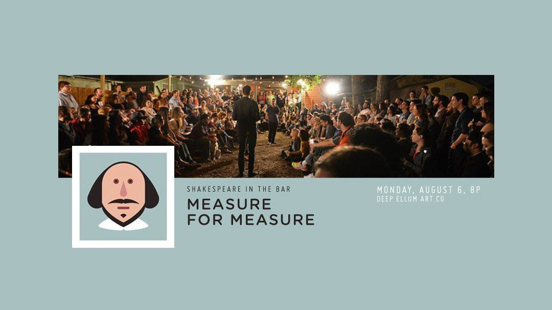 Shakespeare in the Bar – Measure for Measure