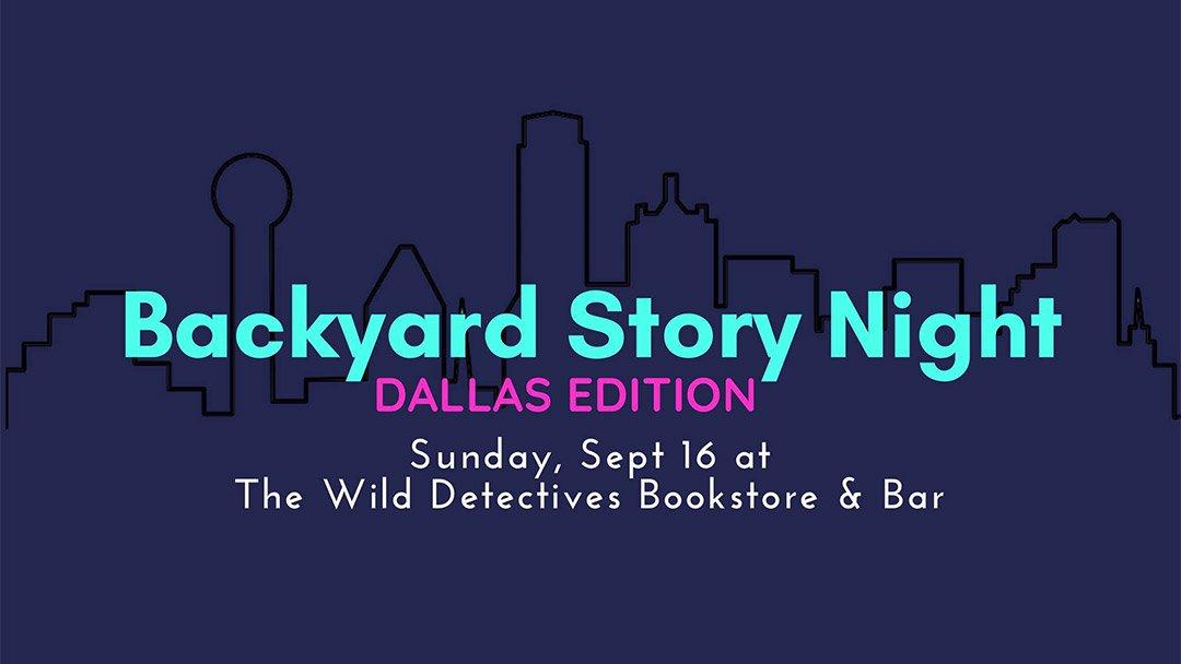 Backyard Story Night