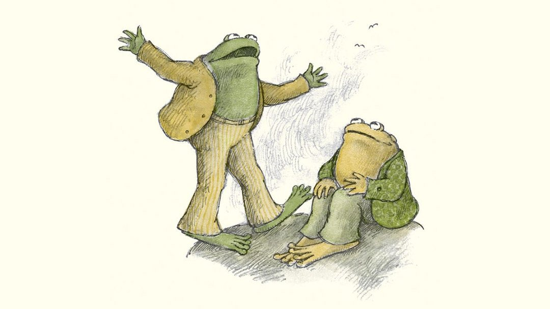Kids in the Cliff – Frog And Toad Are Friends