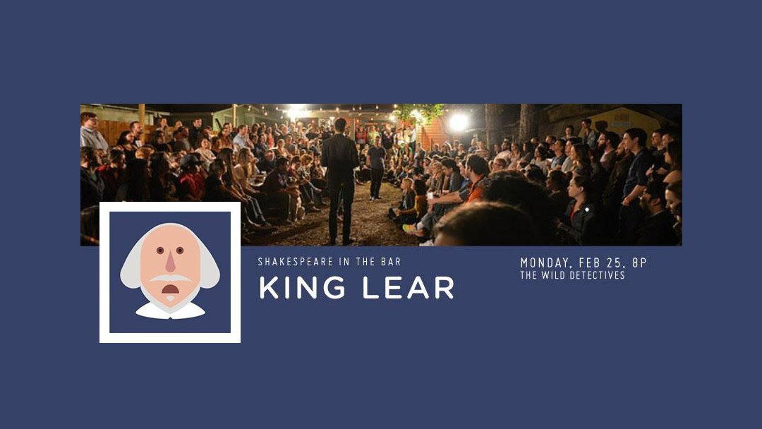 Shakespeare in the Bar – King Lear
