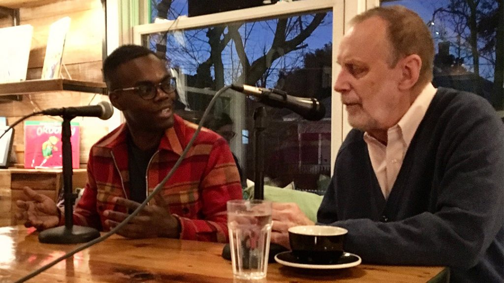 William Jackson Harper & Jim Schutze at The Wild Detectives