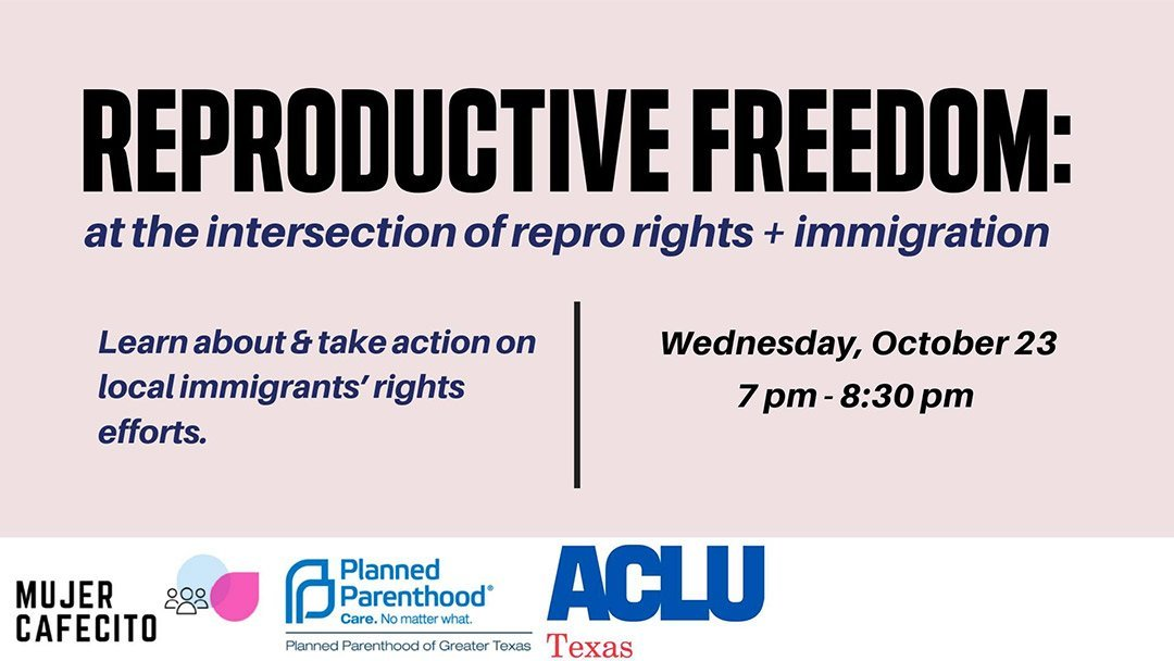 Cafecito: Reproductive Freedom