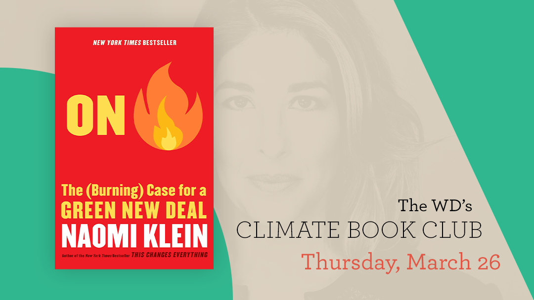 Climate Change Book Club - On Fire